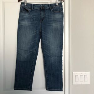 Chicos So Slimming Girlfriend Crop Jeans